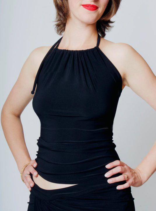 Marisa Neckholdertop schwarz (1)