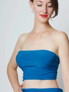Natalia Bandeau blau 1 225x300 - Natalia Multikleid mit Bandeau-Top variabel