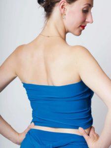 Natalia Bandeau blau 2 225x300 - Natalia Multikleid mit Bandeau-Top variabel