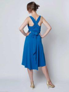 Natalia Bandeau blau 3 225x300 - Natalia Multikleid mit Bandeau-Top variabel