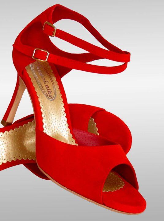 Malena Tanzschuh rot (4)