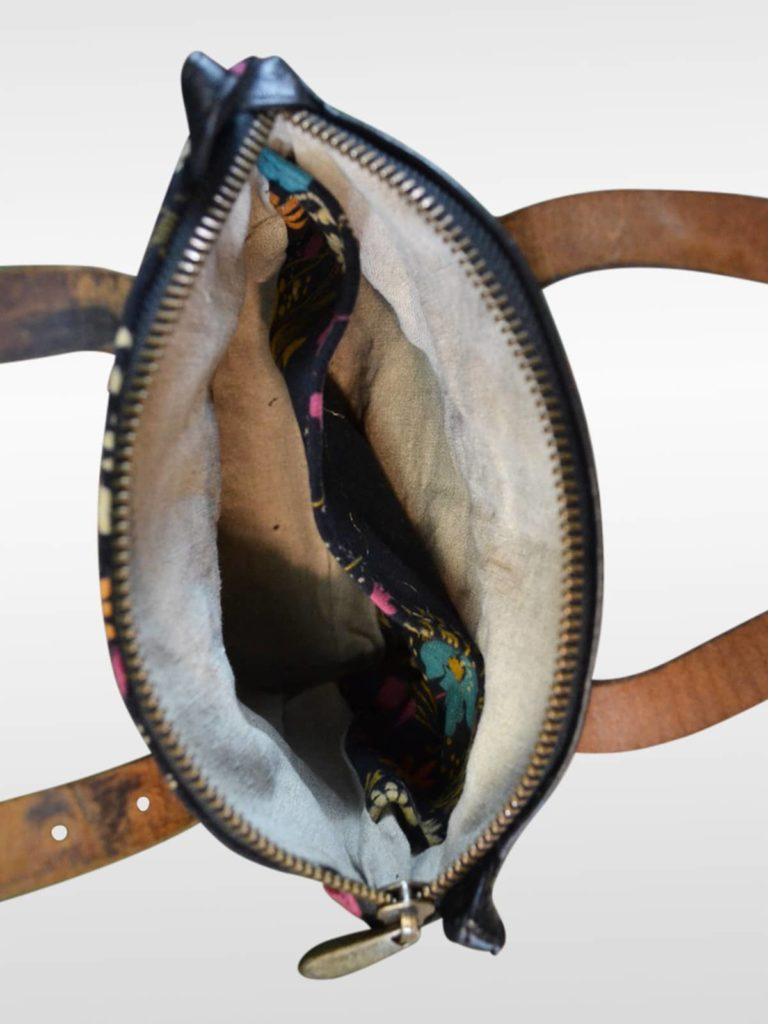 Vintage Handtasche Ulula Velluto Fiori 4