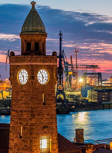 Hamburg Hafen Turm - Nuevas Milongueras