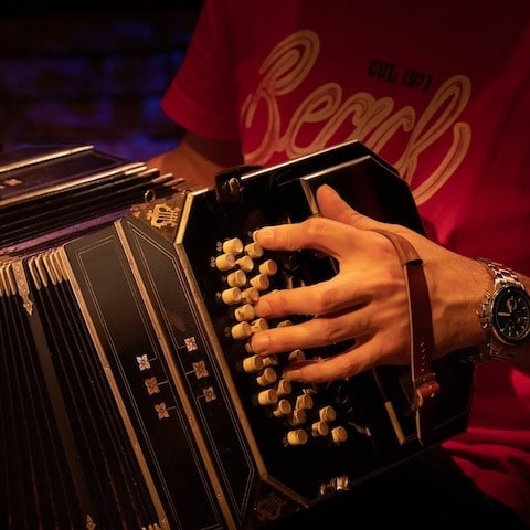 Tango Musiker Und Orchester