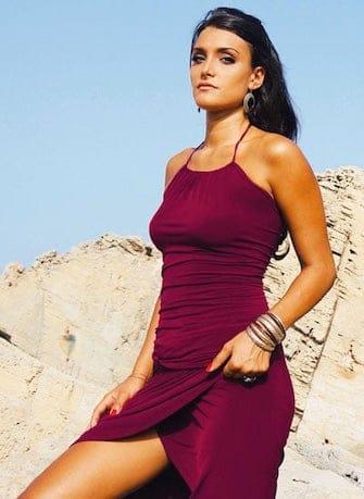 Veronica Bond Top Marisa Am Strand