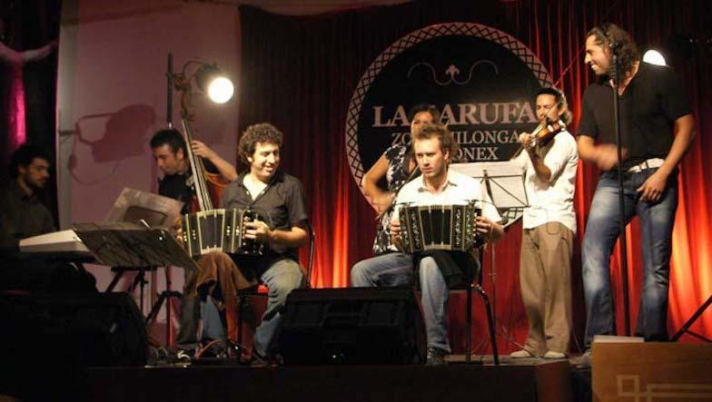 Sexteto Milonguero Tango Tanzen Erste Besetzung