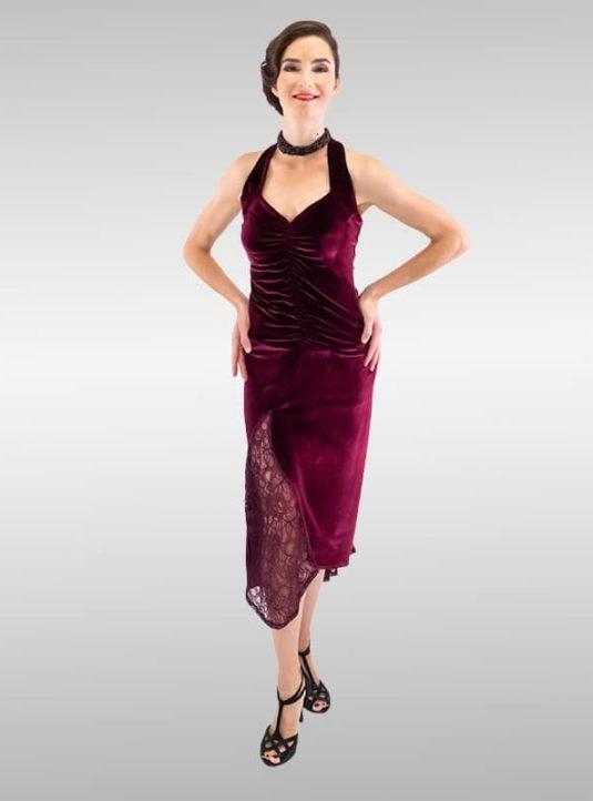 Ana Katarina Abendkleid Bordeaux