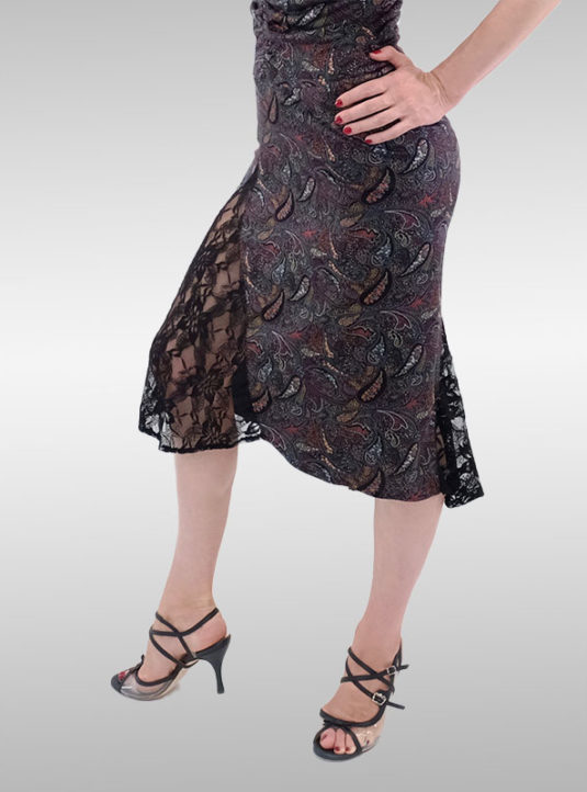 Ana Katarina Abendkleid Paisley