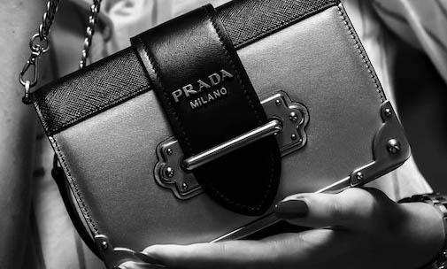 Designer Handtasche Von Prada