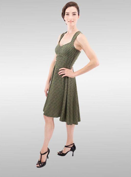 SWING Dress Olive