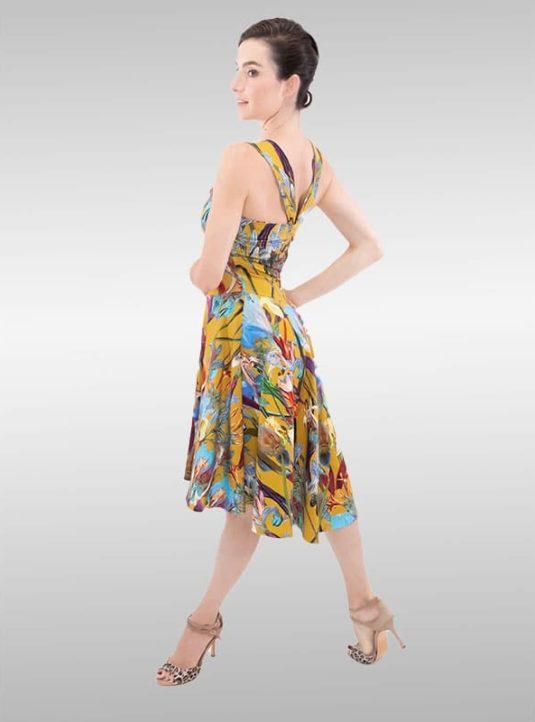 SWING Dress Wild Orchid
