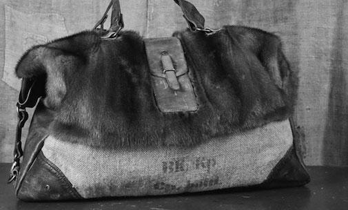 Vintage Taschen Materialmix