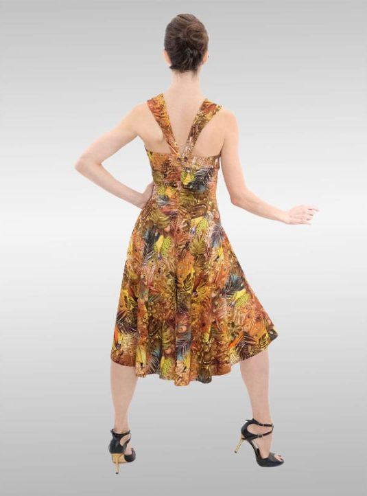 SWING Dress Jungle