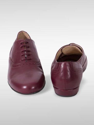 Classico Leder Bordeaux Brogue Stil