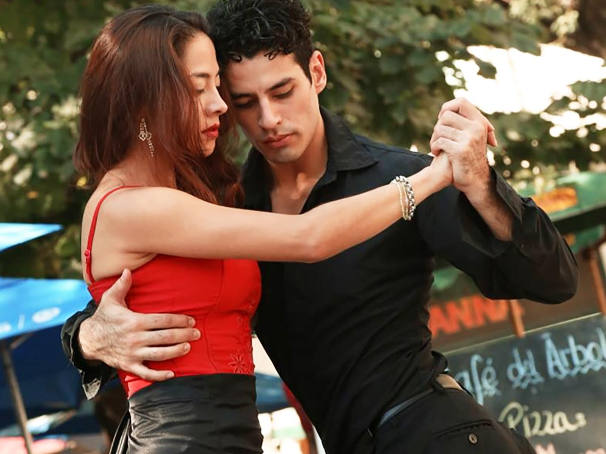 Tango Argentino Tanzpaar in Buenos Aires