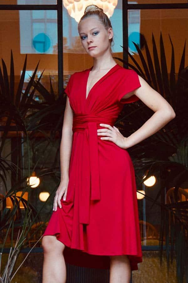 Dance dresses category red Veronica Bond