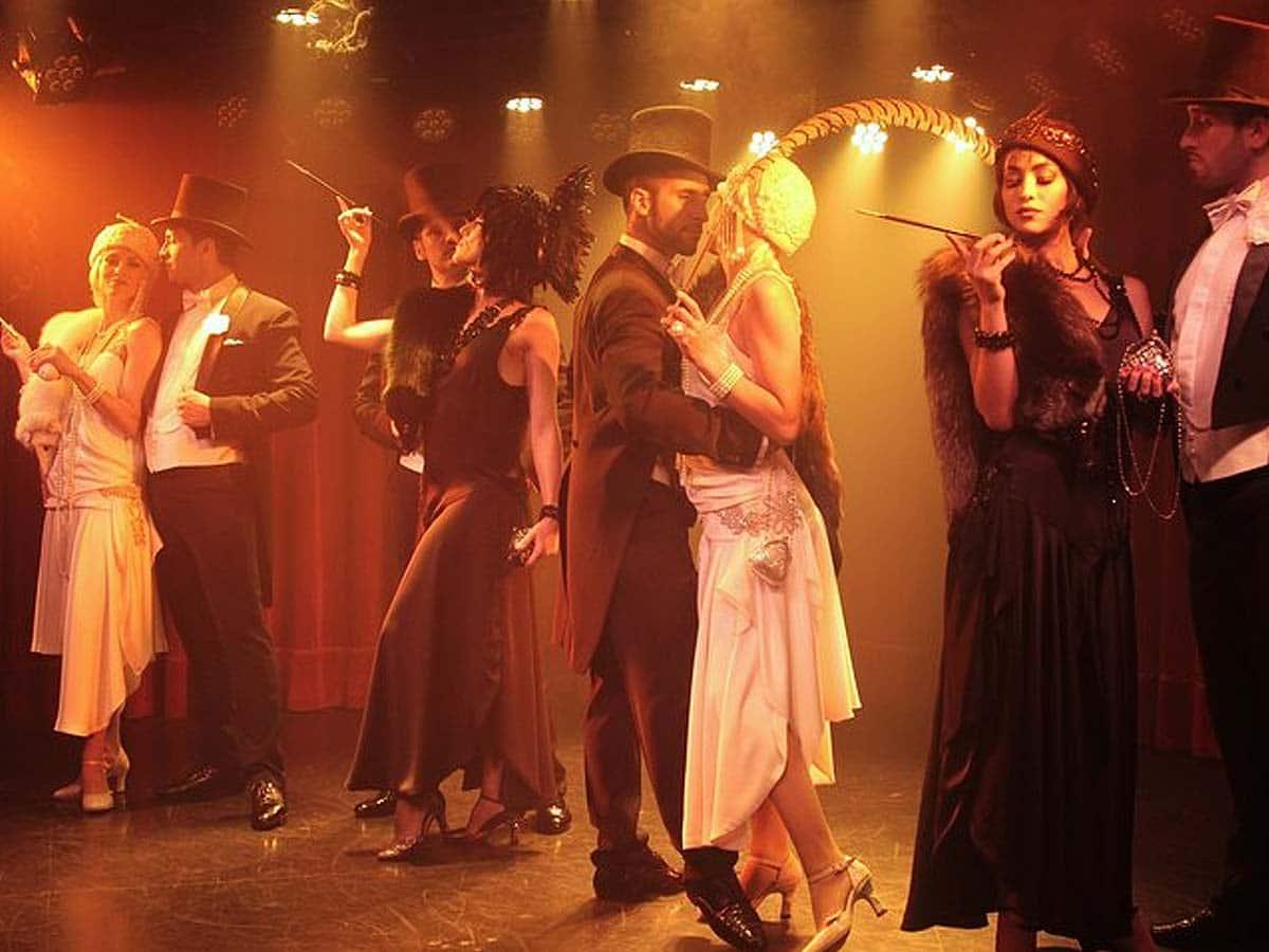 Tanzmode Im Stil der Zeit von Gardel