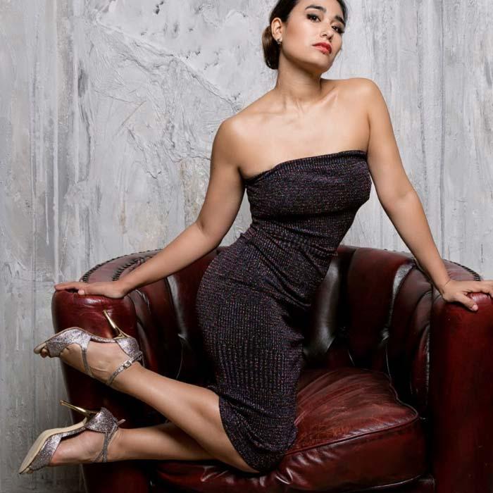 Italienische Modedesigner Tanzschuhe Alagalomi Corina Herrera