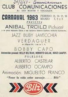 Anzeige Anibal Troilo Und Jazz