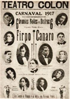 Anzeige Teatro Colon