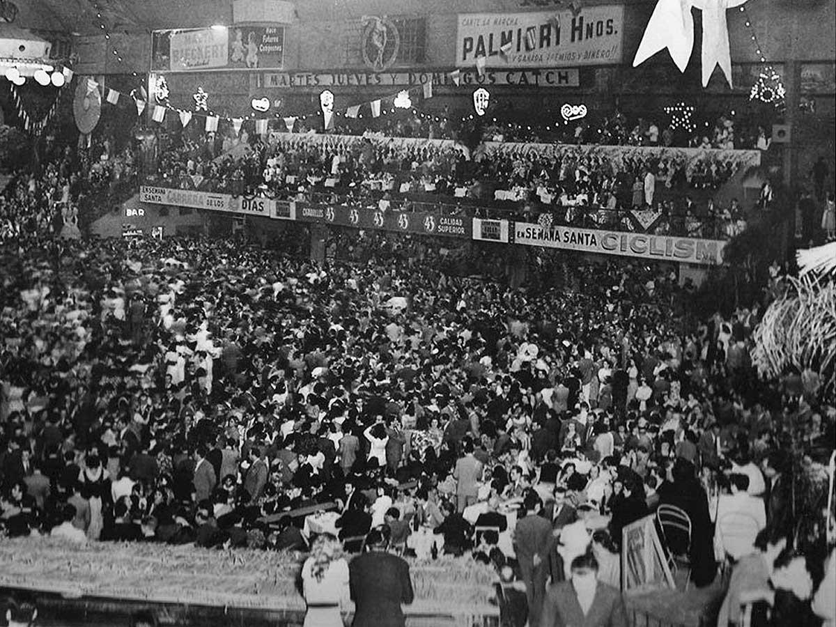 Ballnacht Im Luna Park Buenos Aires