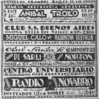 Konzerte Mit Troilo, Calo, DiSarli