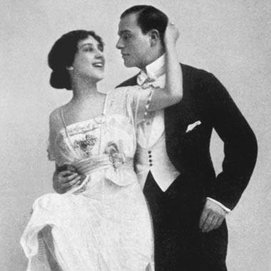 Tangopaar Um 1900