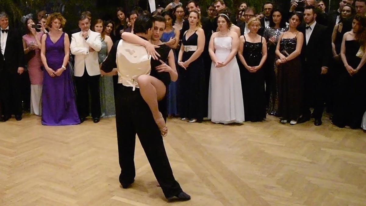 Tangoshow Chiara Greco Und Martin Acosta, Wiener Hofburg