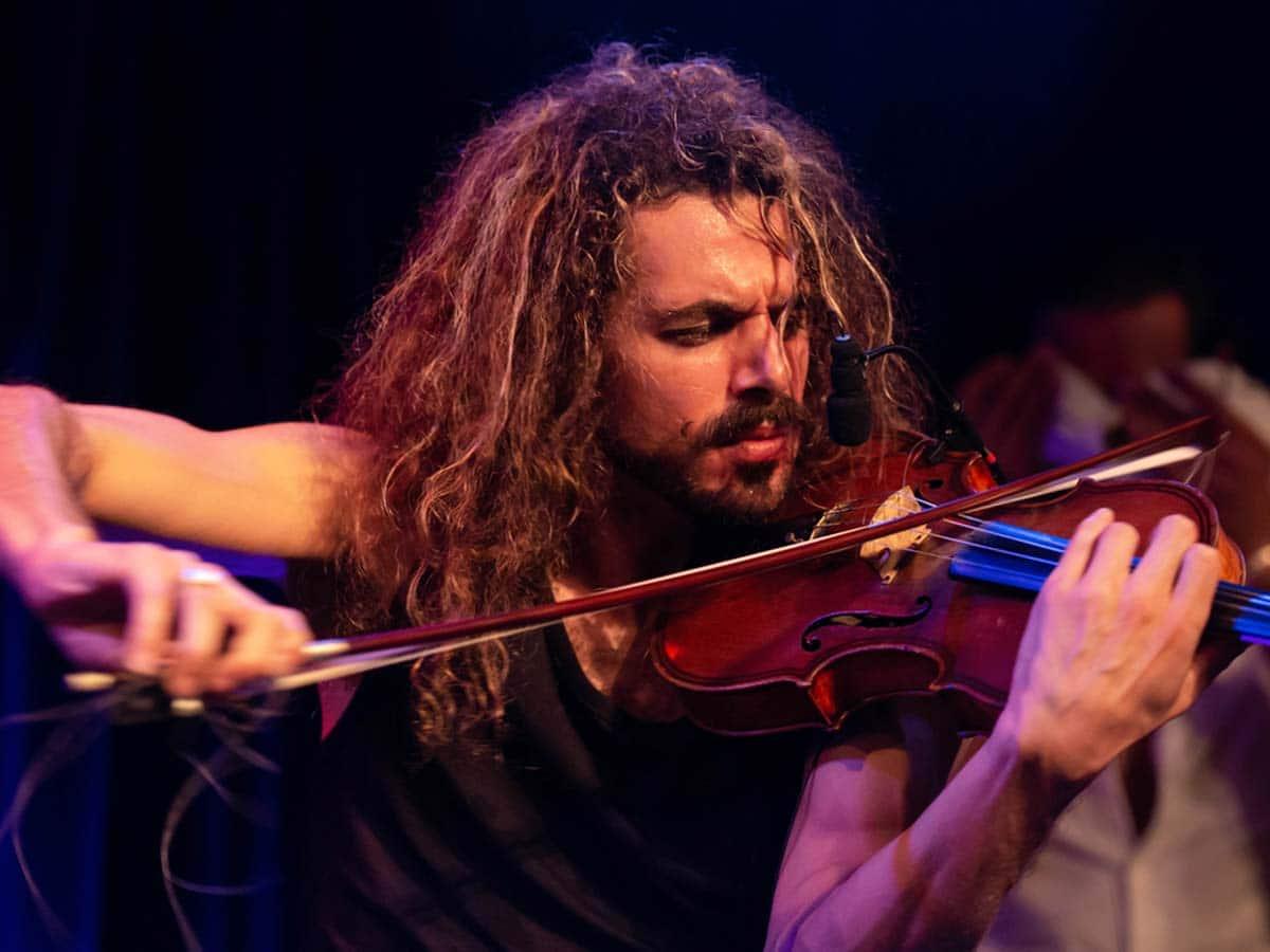 Tangotanz Musik Gustavo Garay Violine
