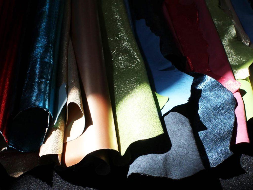 Tangoschuhe Ledersorten und Farben
