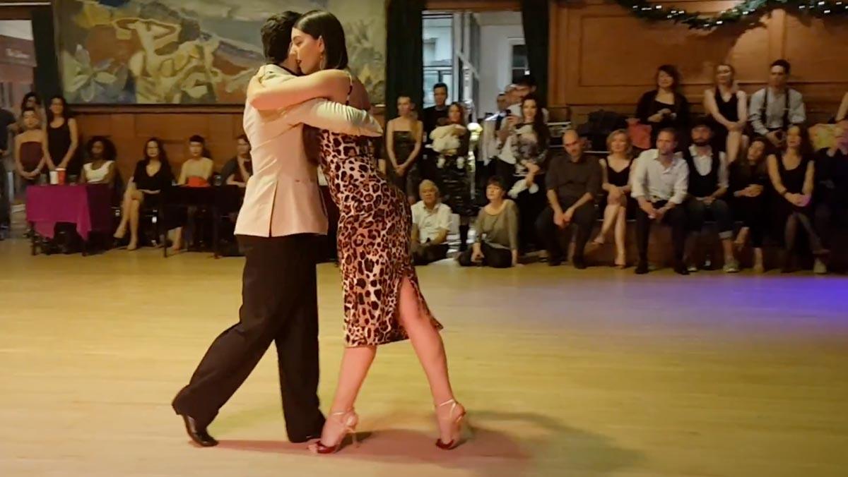 Video Tangoschuhe Natasha und Haris